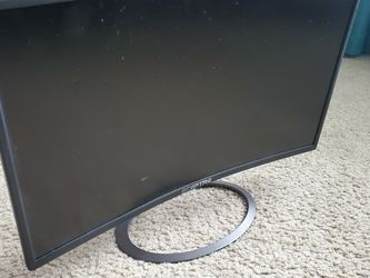 "Sceptre 24"" Curved LED Monitor for Sale in Sumner,  WA"