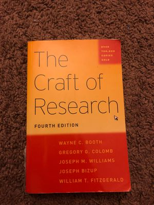 The craft of research for Sale in Arcadia, CA
