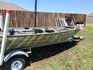 John boat with trailer for Sale in Cache, OK