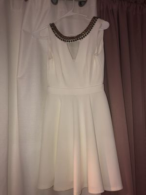 White cocktail dress for Sale in North Las Vegas, NV