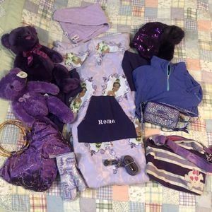 Girls Purple Accessories and Stuff for Sale in Norfolk, VA