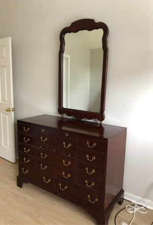 Rare Solid Mahogany Link Taylor Heirloom Dresser for Sale in West Columbia, SC