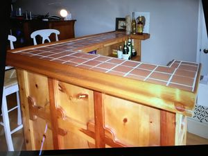 Custom rustic crafted bar for Sale in Los Angeles, CA