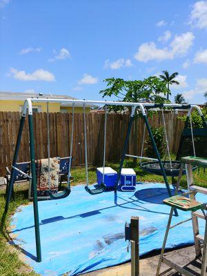Swing set exellent condition for Sale in Davie, FL