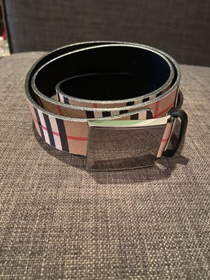 USED 3X BURBERRY BELT 100% AUTHENTIC for Sale in Antioch, CA