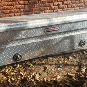 Weatherguard Aluminum Toolbox For Truck for Sale in Fort Worth, TX