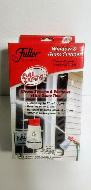 Fuller Brush Co. Full Crystal Window & Glass Cleaner w/Spray Bottle for Sale in Strongsville, OH