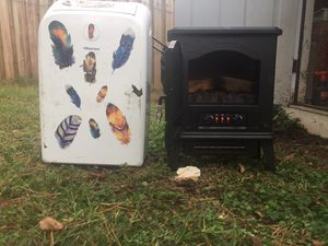 Ac unit and electric heater for Sale in Apex, NC