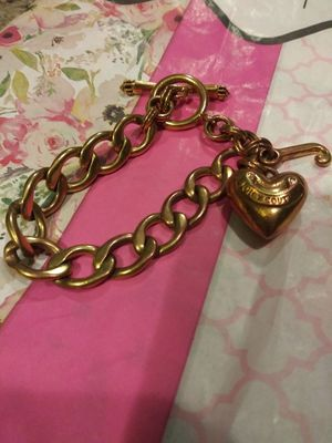 Juicy Couture toggle bracelet and hoodie jacket for Sale in St. Louis, MO
