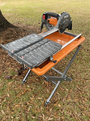 """Ridgid 7"""" Wet Saw for Sale in Wilmington, NC"""