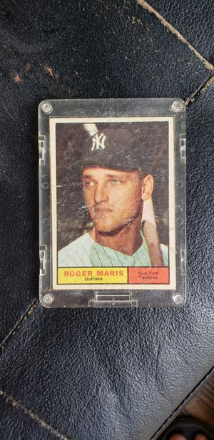 1961 Topps Roger Marris baseball card for Sale in Mount Pleasant, SC