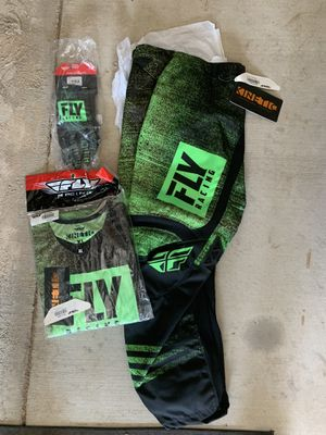 Motorcycle Riding Gear Fly Racing Kinetic Gear Set New for Sale in Norco, CA