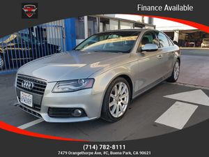 2011 Audi A4 for Sale in Buena Park, CA
