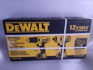 Dewalt 12V MAX 2-Tool Combo Kit -NEW- for Sale in Kent, WA