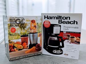 Clearance - blender and coffee maker for Sale in Houston, TX