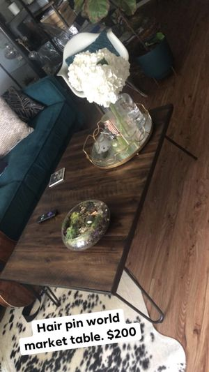 World market coffee table. for Sale in Columbus, OH