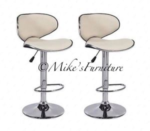 Brand new 2 cream bar stools ( shipping is available) for Sale in Orlando, FL