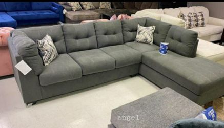 🚛SAMEDAY DELIVERY 🚚SPECIAL] Maier Charcoal RAF Sectional for Sale in Laurel,  MD