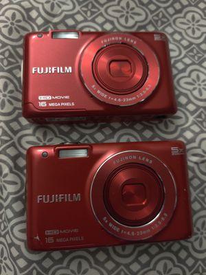 Two Fujifilm JX660 Finepix 16MP 2.7-inch Digital Camera for Sale in Tobyhanna, PA
