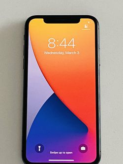 iPhone X 64GB Black Factory Unlocked Like New for Sale in Miami,  FL