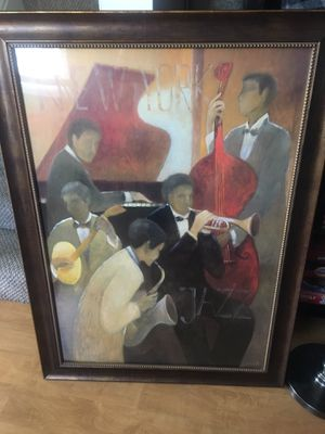 Z gallery jazz print for Sale in Alexandria, VA