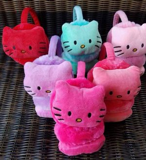 Hello kitty ear muffs. 5.00 each for Sale in Shelbyville, TN