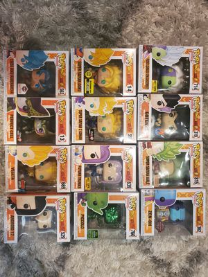 DragonBall Z Funko Pops for Sale in Anaheim, CA