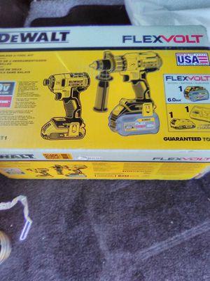 DeWalt flexvolt hammer drill impact driver combo kit brand new for Sale in Federal Way, WA