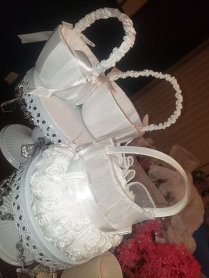 Flower girl basket for Sale in Spring Hill, FL