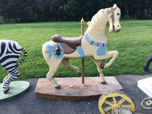 Carousel Horse One of a kind. Hand made. for Sale in Bethlehem, CT