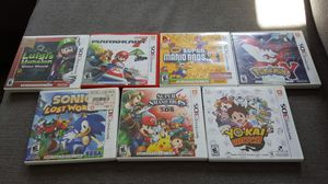 Nintendo 3DS (7) games - Complete in box for Sale in Lake Worth, FL