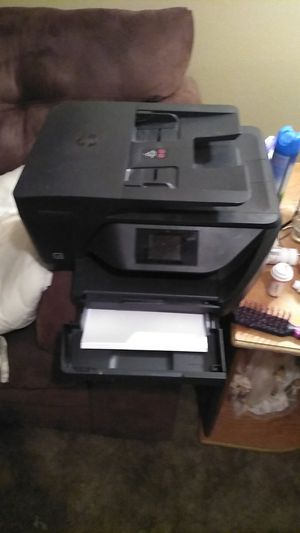 Hp printer copier scanner and fa bluetooth wireless connection for Sale in Walker, LA