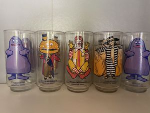 McDonalds Collectible 1977 drinking glasses NEW for Sale in Federal Way, WA