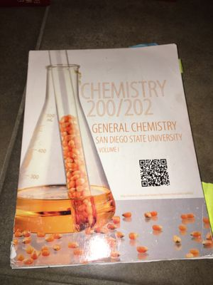 Chemistry 200/202 General Chemistry for Sale in Columbus Air Force Base, MS