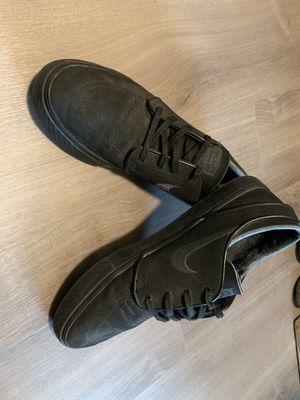 Men's black Nike Stefan Janoski size 11 for Sale in Seattle, WA