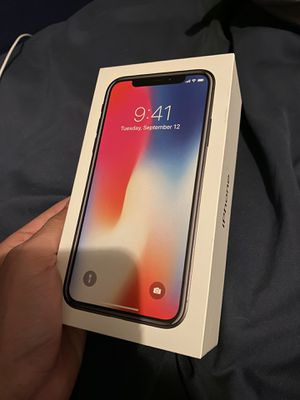 iPhone X 256 GB - AT&T locked for Sale in Austin, TX