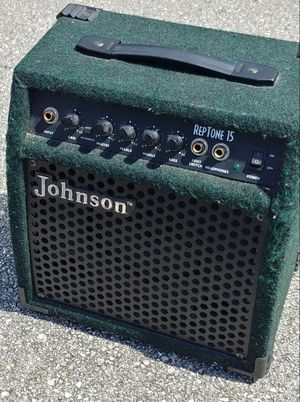 Johnson RepTone 15 Electric Guitar Practice Combo Amp with Overdrive for Sale in Deerfield Beach, FL