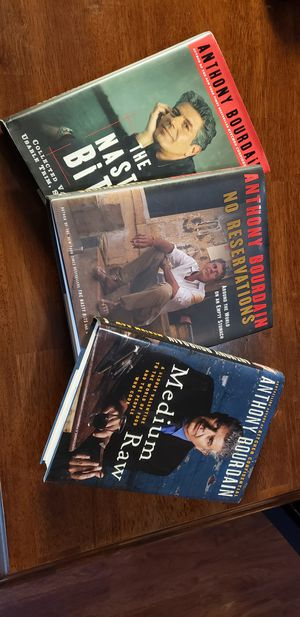 Anthony Bourdain books for Sale in Hillsboro, OR