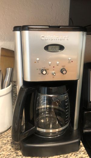 Coffee maker Cuisinart 100% perfect working condition for Sale in Huntington Beach, CA
