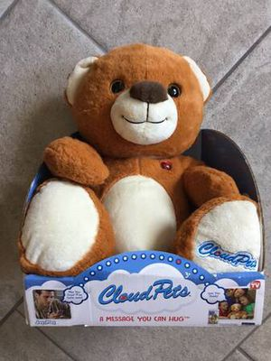 New cloud pets Teddy Bear for Sale in Norman, OK