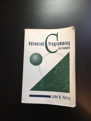Advanced C Programming for Sale in San Diego, CA