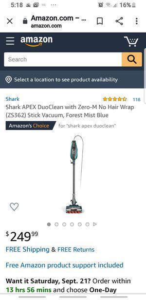 Shark APEX DuoClean for Sale in Las Vegas, NV