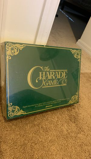 The Charade Game board game ©1985 NEW for Sale in Miramar, FL