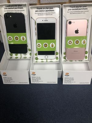 only this location 🔥🔥Switch 1 line to Boost Mobile and get 1- iPhone 7 $39.99 2- iPhone 6S plus 49.99 3- 2 iPhone 6S $25 each phone 4- 4 Samsung for Sale in Milwaukee, WI