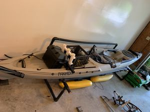 Wilderness Systems Tarpon 140 Fishing Kayak for Sale in Dover, DE