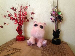 Pink hippo plushy toy for Sale in West Sacramento, CA