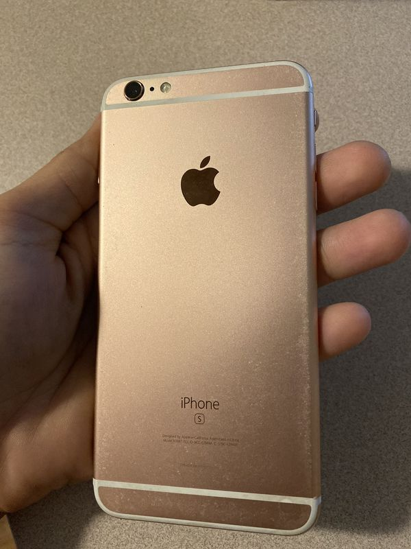 iPhone 6S plus 16 gig rose gold