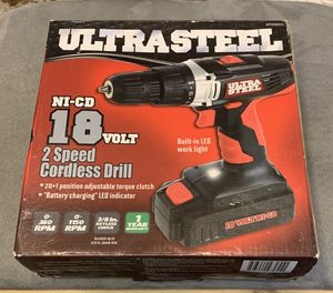 Brand new 18 volt drill. Never used. Still in box. Ship only. for Sale in Sevierville, TN