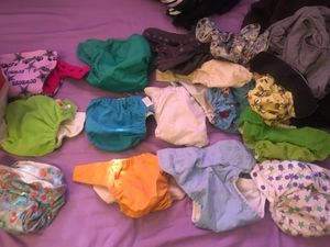 Cloth diapers good condition - play condition for Sale in Fullerton, CA