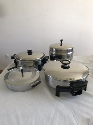 Electric fryer/ roaster & electric fry'g pans $25 ea .obo. for Sale in Santa Maria, CA